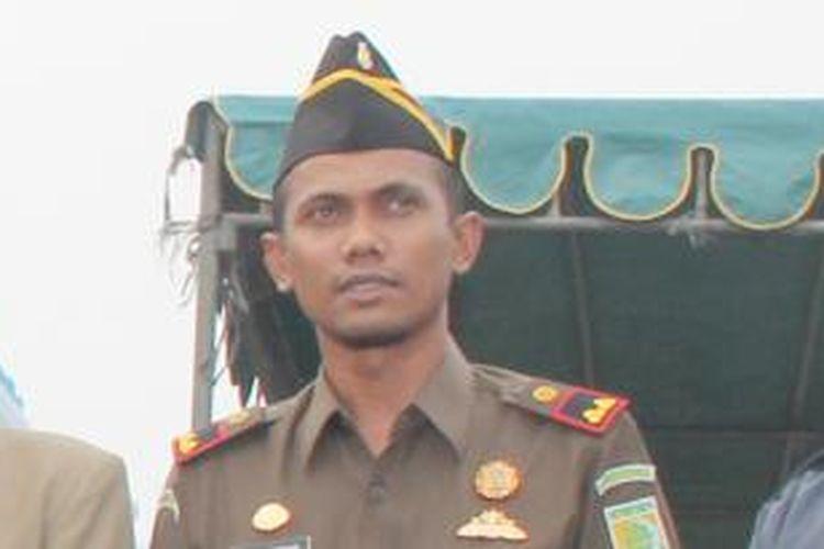 Kepala Kejaksaan Negeri (Kajari) Lhoksukon, Aceh Utara, Teuku Rahmatsyah