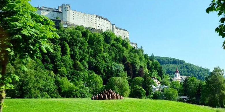 Kota Salzburg di Austria.