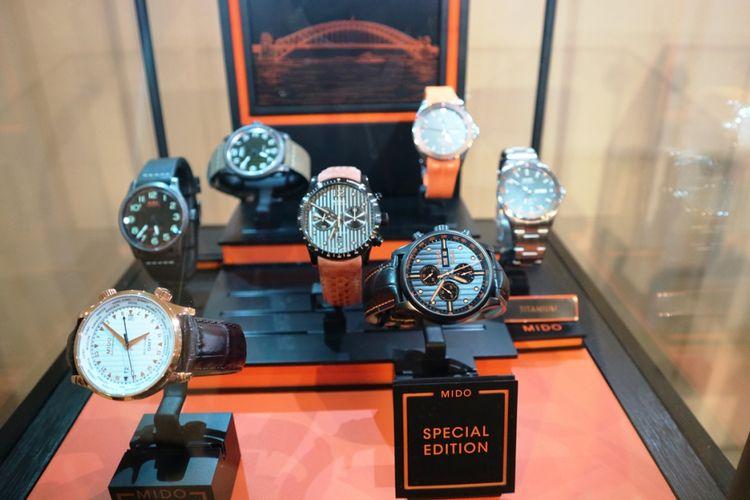 Koleksi jam tangan Mido seri Multifort yang terinspirasi oleh desain jembatan Sydney Harbour.