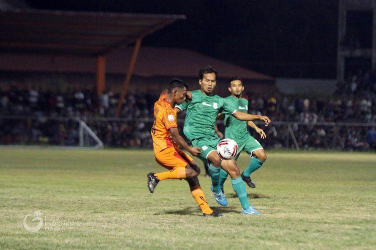 Penyisihan Grup Barat Liga 2 2019 Persiraja melawan PSMS Medan.