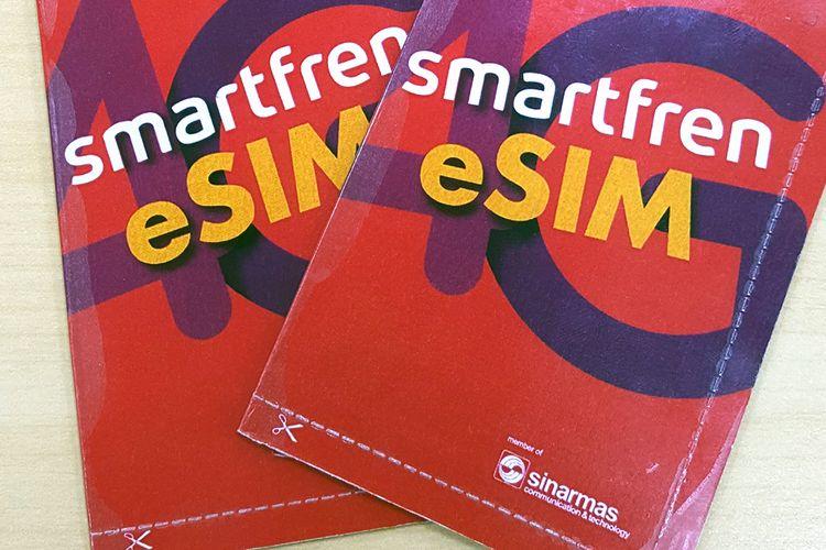 Ilustrasi eSIM Smartfren