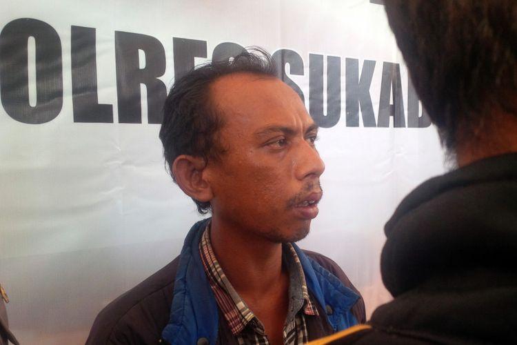 Wandi (35) anak pertama Nining Sunarsih.