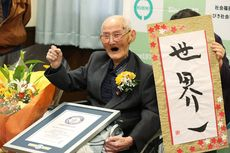 Selain Murah Senyum, Ini Rahasia Panjang Umur Chitetsu Watanabe, Manusia Tertua di Dunia