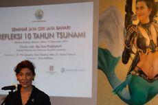 Sambil Lesehan, Menteri Susi Bakar Semangat Pegawai KKP