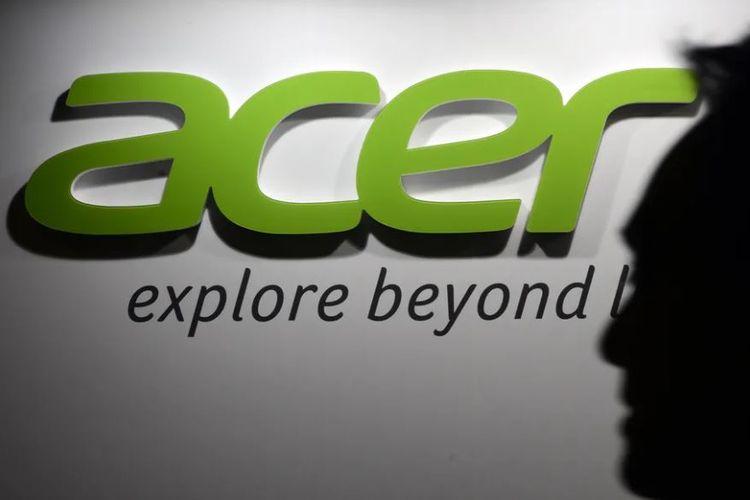 Ilustrasi logo Acer.