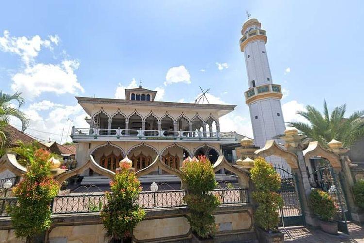 Masjid Nurul Huda, Kampung Gelgel di Klungkung, Bali.