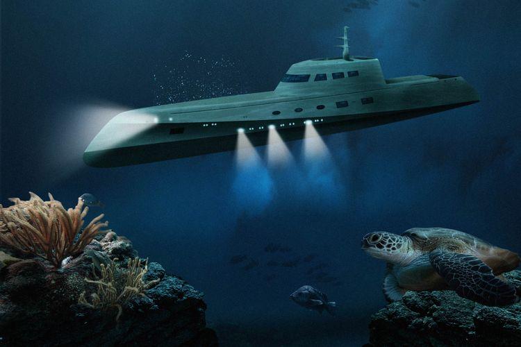 Lovers Deep-Luxury Submarine Hotel.
