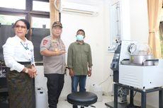 Alkohol Langka, Polda Bali Buat Cairan Disinfektan dari Arak Sitaan