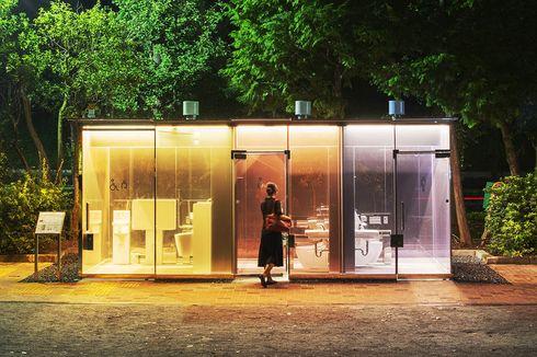 Unik, Ada Toilet Transparan di Tokyo