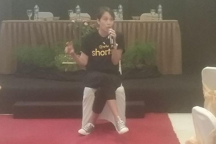 Senior Vice Presiden Marketing Viu, Myra Suraryo . KOMPAS.COM/SLAMET PRIYATIN