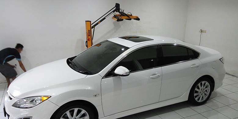 Proses ceramic coating pada perawatan kendaraan