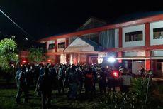 Narapidana Rusuh, Polisi Masuk ke Dalam Lapas Tuminting Manado, Terdengar Bunyi Tembakan