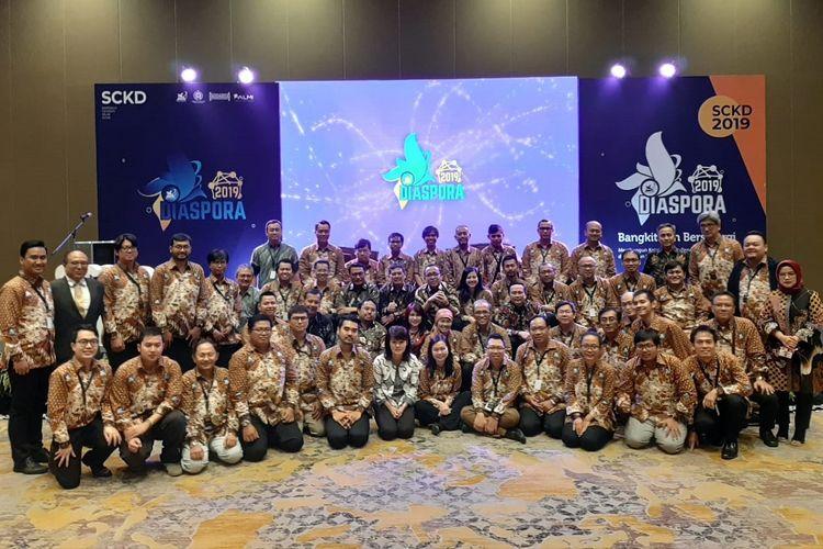 Simposium Cendekia Kelas Dunia (SCKD) 2019 bertema Bangkit dan Bersinergi di Jakarta, Jumat (23/8/2019).