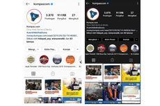 Viral #Instagramdarkmode, Ini Langkah Mengaktifkannya