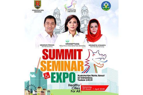 Jadi Tuan Rumah, Semarang Serius Persiapkan Summit Kota Sehat 2020