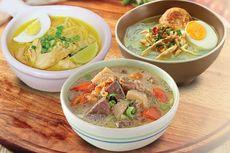 Festival Soto Nusantara Online Digelar, Bisa Beli 36 Jenis Soto Indonesia
