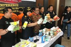 Polisi Bekuk 8 Kurir Narkoba, Barang Bukti 38 Kilogram Sabu dan 28.000 Butir Ekstasi