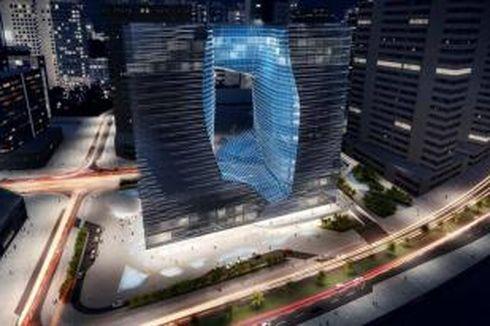 Maestro Arsitektur Dunia Rancang Gedung Unik Berongga