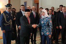 Wapres Ma'ruf Bertemu Presiden Halimah, Ini yang Dibicarakan...
