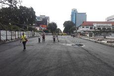 Sudah Uji Pembebanan, Alun-alun Surabaya Segera Dilalui Kendaraan