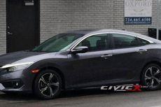 Honda Civic Generasi Baru Tepergok di Jalan