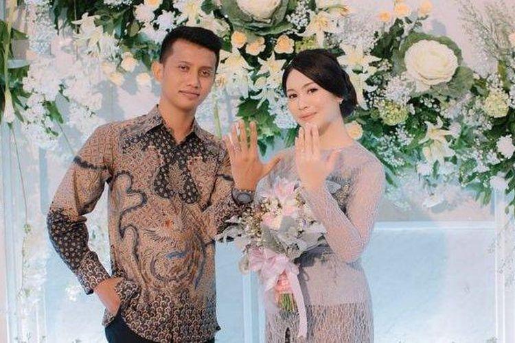 Acara tunangan Gunawarman Tri Pambudhi dengan Eliza Madyanty yang merupakan anak bupati Subang.  (Tribun Jabar)