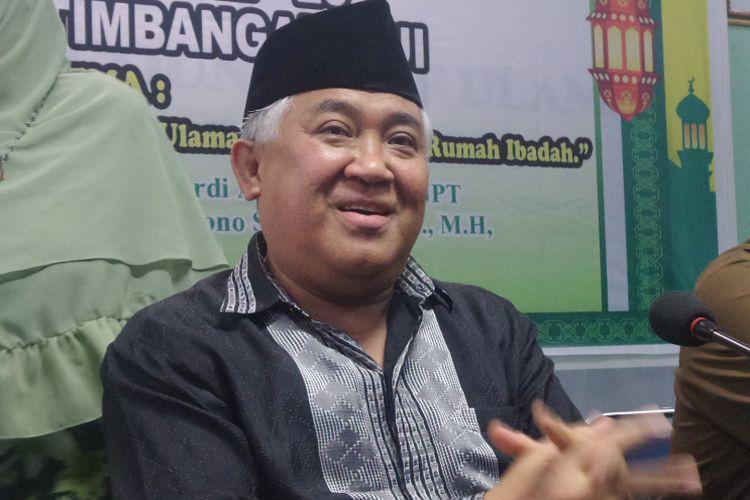 Ketua Dewan Pertimbangan MUI Din Syamsudin