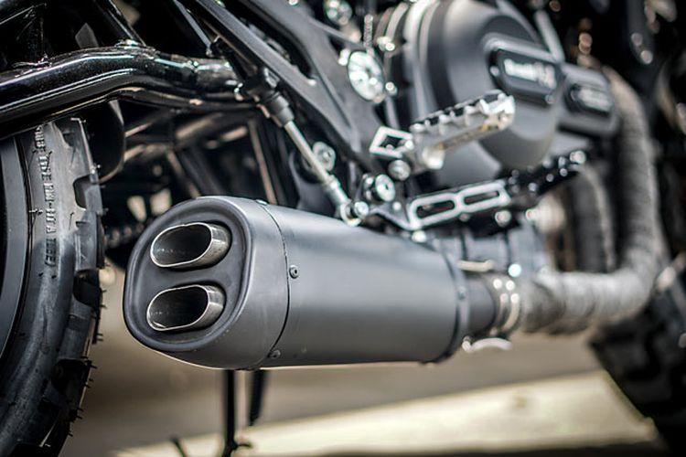 Benelli Leoncino 500 bergaya scrambler garapan K-Speed