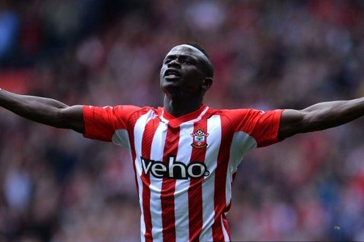 Sadio Mane saat masih berseragam Southampton.
