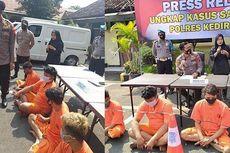 Aksi Brutal Debt Collector di Kediri, Tabrak Pakai Motor dan Keroyok Warga saat Tagih Utang, Ini Kata Polisi