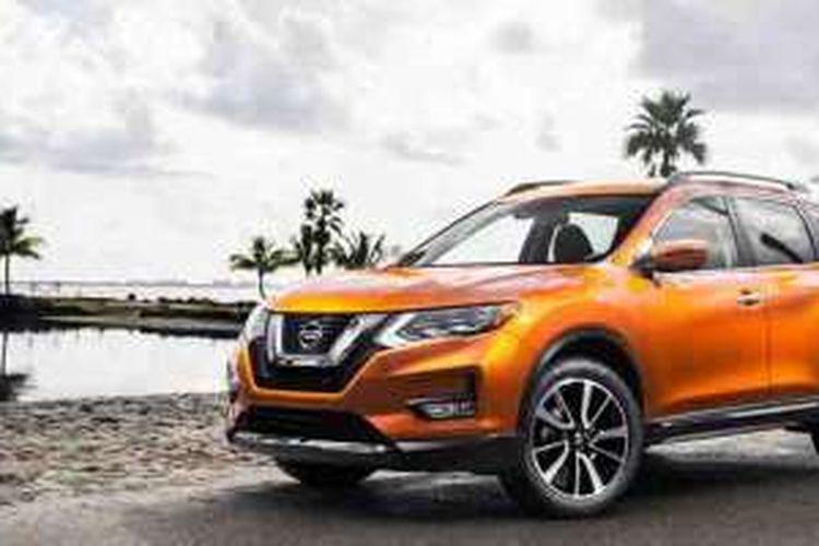 Nissan Rogue alias X-Trail 2017.