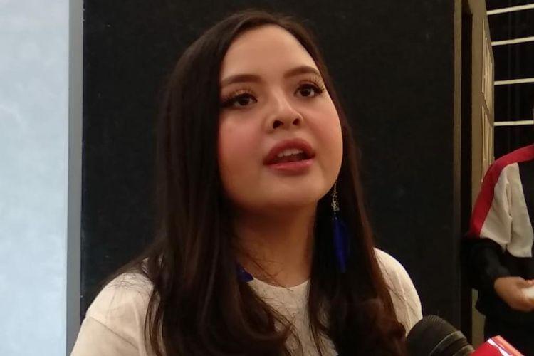 Tasya Kamila saat ditemui di Senayan City, Jakarta Pusat, Sabtu (14/3/2020).