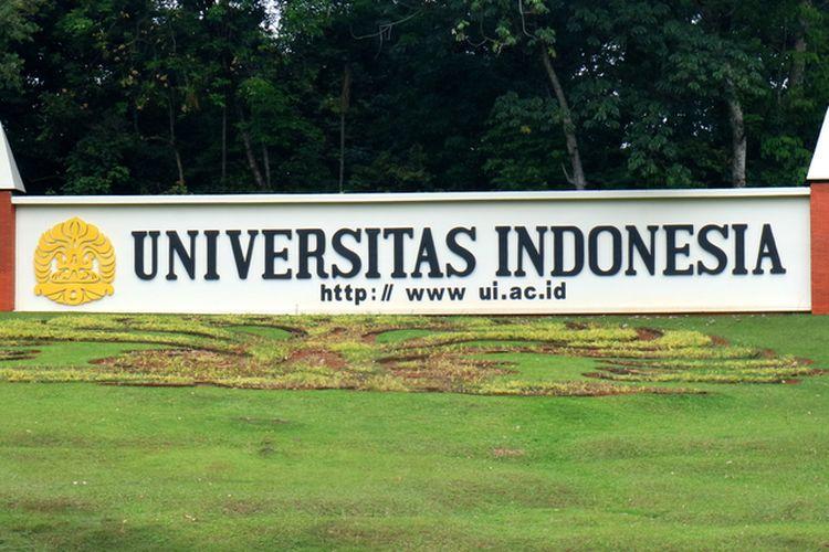 Ilustrasi Kampus Universitas Indonesia, Depok, Jawa Barat.