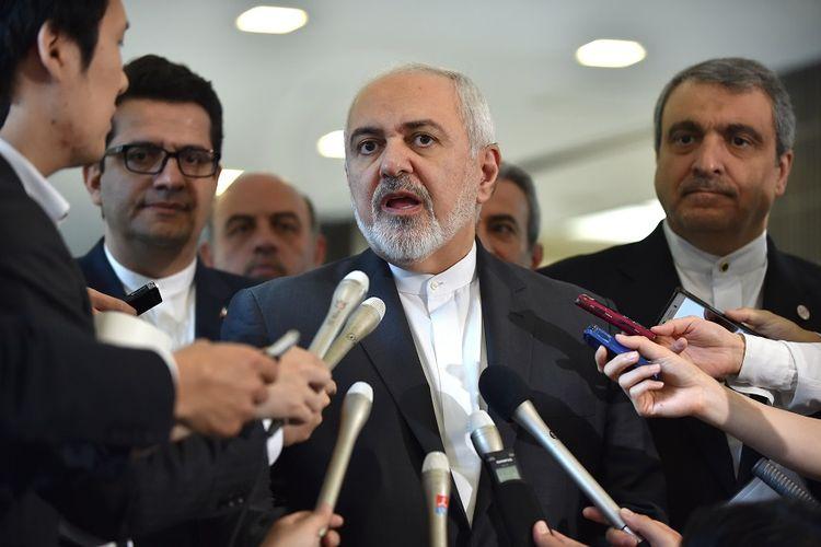 Menteri Luar Negeri Iran Mohammad Javad Zarif.