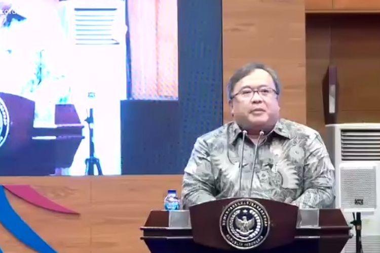Menristek Bambang Brodjonegoro.