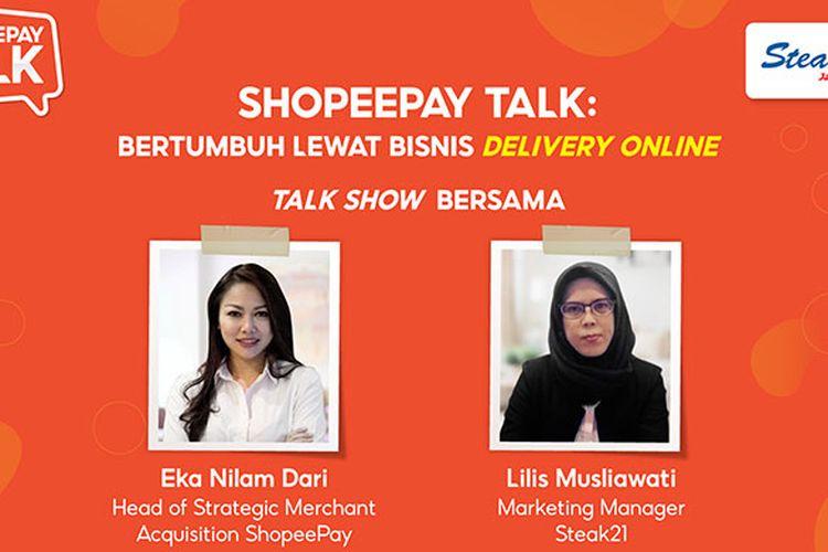 ShopeePay Talk, webinar dari ShopeePay untuk dukung para pengusaha.