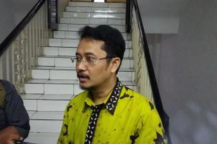 Komisioner KPU Ferry Kurnia Rizkiyansyah, saat ditemui di Gedung KPU, Jakarta Pusat, Selasa (28/7/2015).