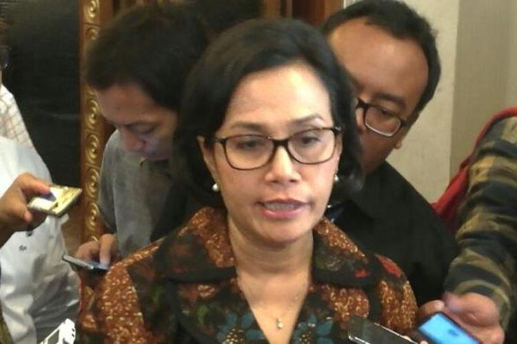 Menteri Keuangan Sri Mulyani di Balai Kartini, Jakarta, Senin (19/12/2016)