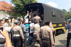 Aksi Tolak PPKM Mahasiswa dan Pedagang di Lebak Dibubarkan, Peserta Kocar-kacir Dikejar Polisi