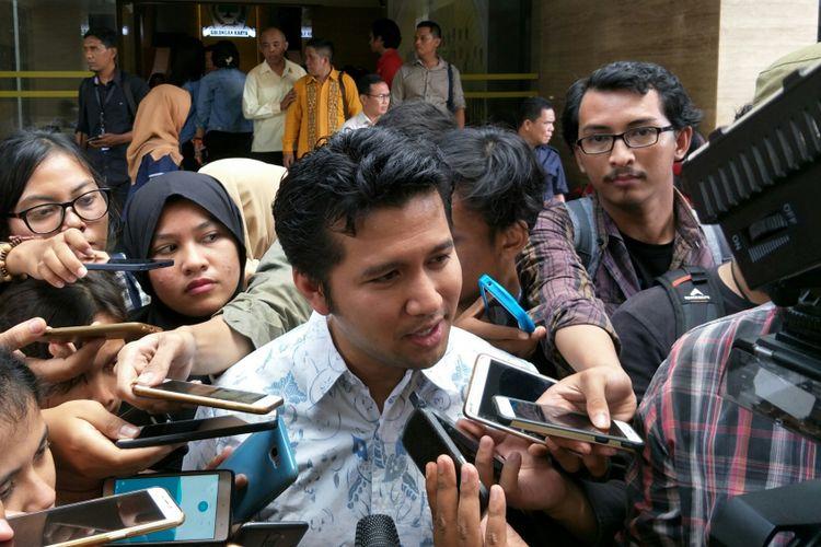 Bupati Trenggalek, Emil Dardak ketika ditemui di kantor DPP Golkar, Jakarta, Rabu (22/11/2017).