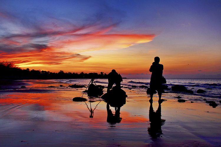 Menikmati Pantai Badur Sumenep