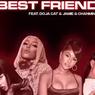 Lirik Lagu Best Friend - Saweetie, Doja Cat, Jamie & Chanmina Remix