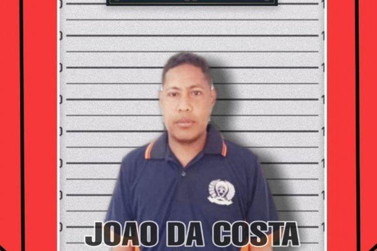 Joao Da Costa, narapidana yang masuk dalam daftar pencarian orang (DPO).