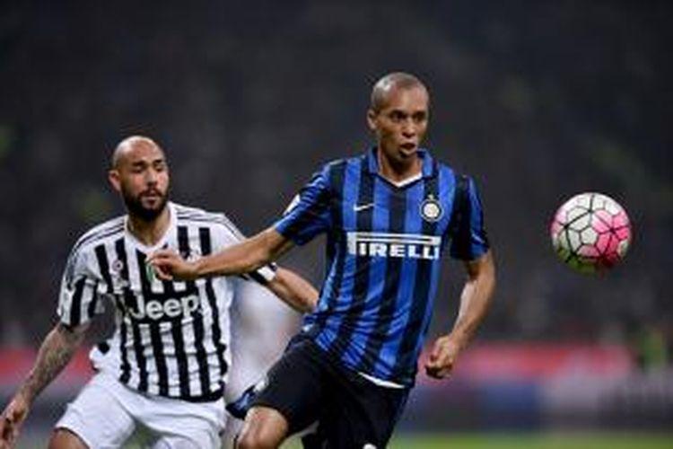 Derbi Italia antara Inter Milan dan Juventus berakhir imbang tanpa gol, Minggu (18/10/2015).