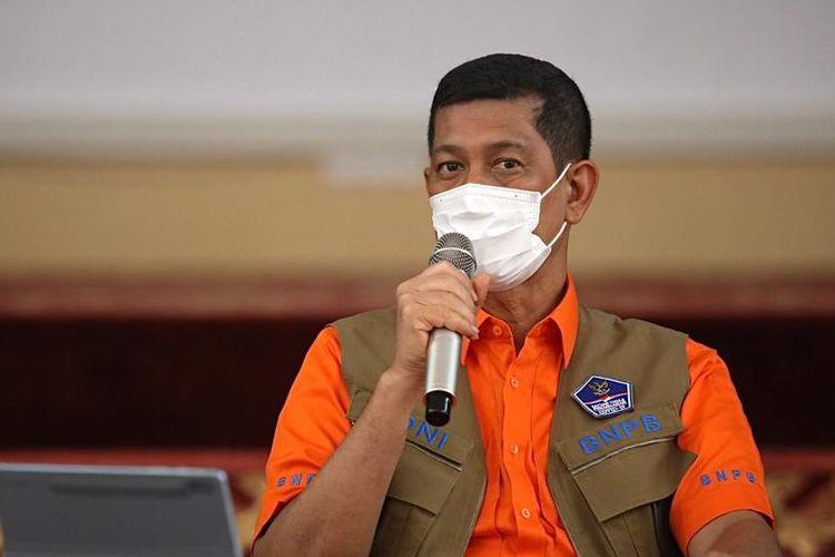 Kepala Badan Nasional Penanggulangan Bencana (BNPB) sekaligus Ketua Satgas Penanganan Covid-19 Doni Monardo.