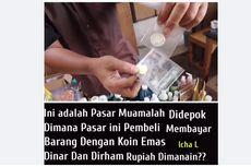 Koin Dinar-Dirham di Pasar Muamalah Depok Disebut Dibagikan Via RT