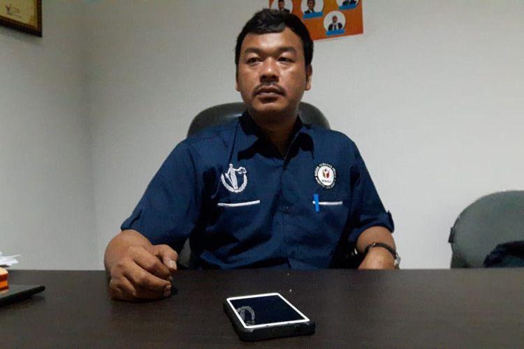 Koordinator Divisi Penindakan dan Pelanggaran Pemilu Bawaslu Kabupaten Bogor, Jawa Barat, Abdul Haris