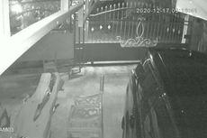 Rumah Ketua KPU Muna Dilempar Bom Molotov, Pelaku Terekam CCTV