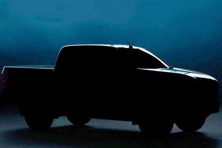 Siluet Mazda BT-50 yang meluncur 17 Juni 2020