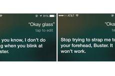 Apple Siri Sindir Google Glass